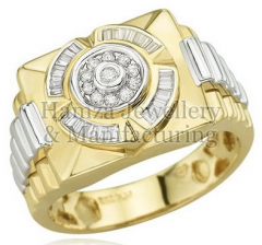 Gold Mens Ring 07