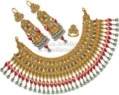 Gold Necklace Set 06
