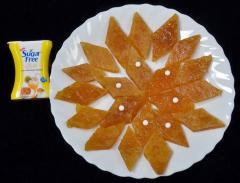 Sugar Free Mango Katli