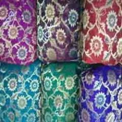 Banarasi Meena Jacquard Fabric