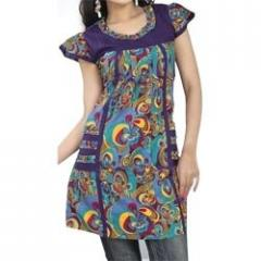 Butterfly Sleeves Kurti