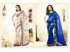 Designer Chiffon Sarees