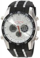 U S Polo Assn Men'S Us9061 Black Rubber Strap