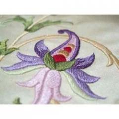 Embroidered Silk Fabrics