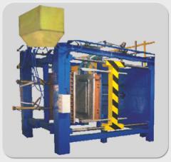 Pneumatic Shape Moulding Machine
