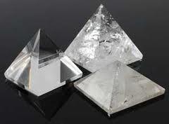Quartz Crystal Pyramids