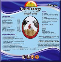 Electrolyte with Minerals & Vitamins for  Poultry & Cattle.