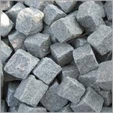 White Granite Cubes