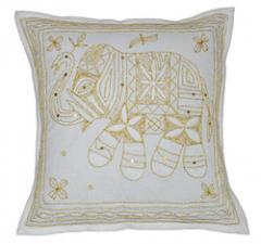 Zari cushion covers for sofas