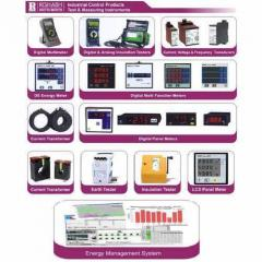 Rishabh Energy Meters / Panel Meters