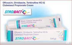 Strobact Plus Cream (Ofloxacin, Ornidazole,