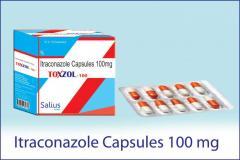 Toxzol-100 ( Itraconazole Capsules 100 mg)