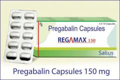 Regamax-150 ( Pregabalin Capsules 150 mg)