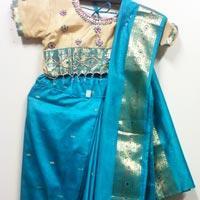 Girls Readymade Saree