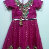 Girls Beaded Lehenga