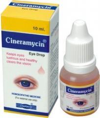 Cineramycin eye drop