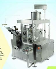 ALLUMINIUM TUBE FILLING MACHINE