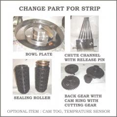 STRIP PACKING MACHINE CHANGE PARTS