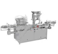 Pouring and capping equipment