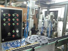 AUTOMATIC AEROSOL FILLING MACHIN