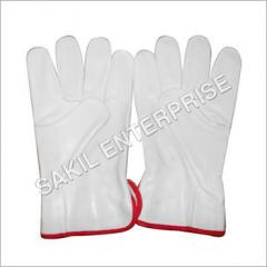 Leather Grain Driving Gloves