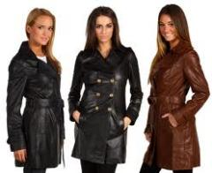 Leather Long Coats (Ladies)