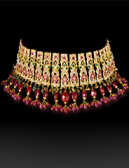 Gold necklace Indian legacy