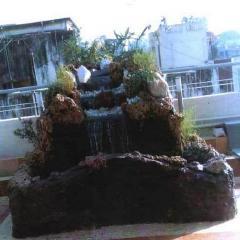 Fontener, fossefall for bassenger