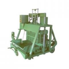 Hollow block machine,