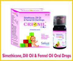 Crionil drops (Simethicone, Dill Oil, Fennel Oil
