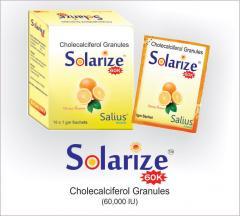 Solarize (Cholecalciferol granules 60k / oral
