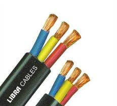 3 Core Flat Submersible Cables