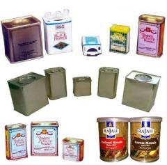 Curry Powder Tin Cans