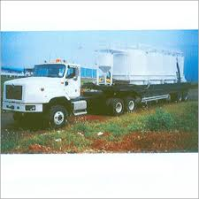 Truck Mounted Bulk Handling Silos
