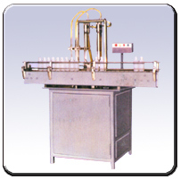 Automatic Twin Head Liquid Filling In Bottles And
