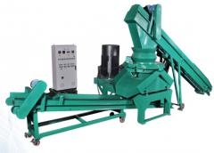 MUNICIPAL SOLID WASTE (MSW) BRIQUETTING MACHINE