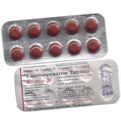 Esomiz-20 (Esomeprazole Capsules).