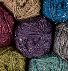 Tweed yarn