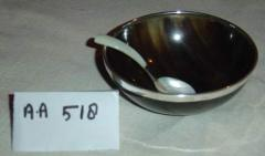 Bowl Horn with Spoon
