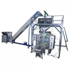 Automatic Vertical Form Fill Seal Machine Collar