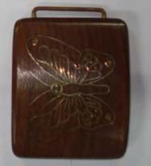 Wooden belt's buckle