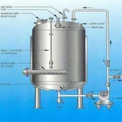 Цистерна для хранения дистиллированной воды