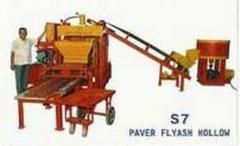 Semi Automatic Fly Ash Brick Machine, 3 In 1