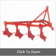 Four Bottom Fixed Mould Board Plough
