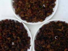 Dried Raisin, Peanut Kernel, Hulled Sesame Seeds,