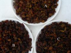 Dried Raisin, Peanut Kernel, Hulled Sesame Seeds,