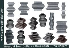 Ornamental iron components