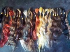 Various Bulk Colored Hair
