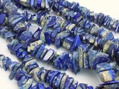 Chip stone beads