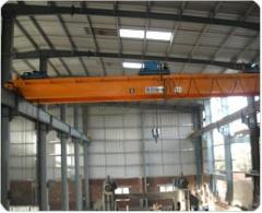 Double Girder EOT Crane with wire rope electric